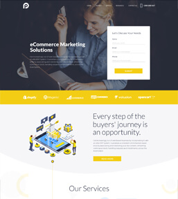 Landing page example 10