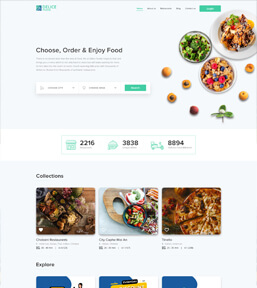 Landing page example 4